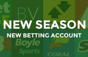 new betting account