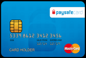 Κάρτα paysafe